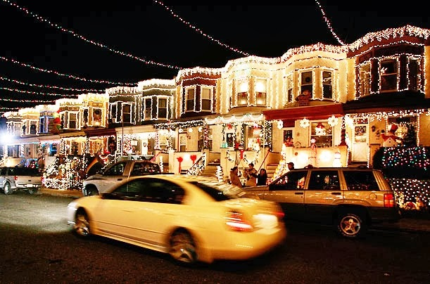 theres a street in baltimore maryland with every resident on the 700 block putting up exemplary christmas lights they have been decorating their homes - Christmas Lights Maryland