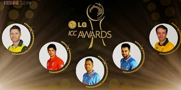 2013 ICC Awards shortlisted Cricketers