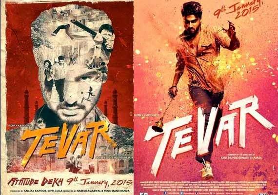 Bollywood Movie Tevar Release Date 9th Jan 2017 Poster