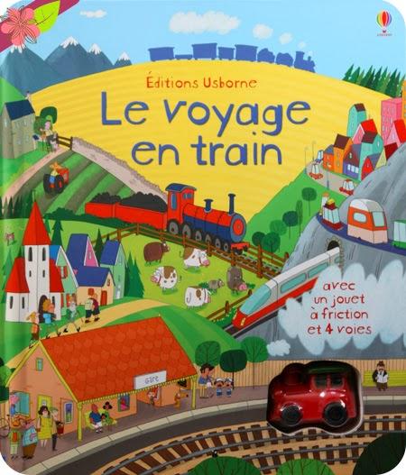 """""""Le voyage en train"""" publié par les éditions Usborne"""