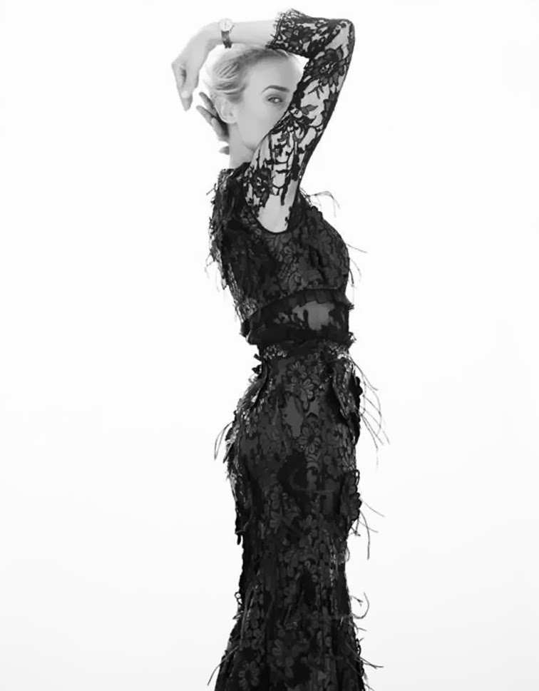 Diane Kruger for Vogue Mexico photographed by Thomas Whiteside, styled by Sarah Gore Reeves