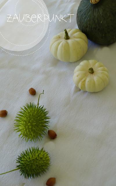 Kürbis, Herbstliche Tischdeko, Tablesetting