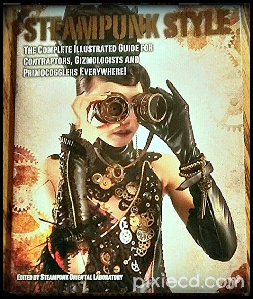 Steampunk Style  It's actually an AMAZING book!