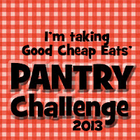 http://goodcheapeats.com/2012/12/prepare-to-eat-down-the-pantry-2013-challenge/