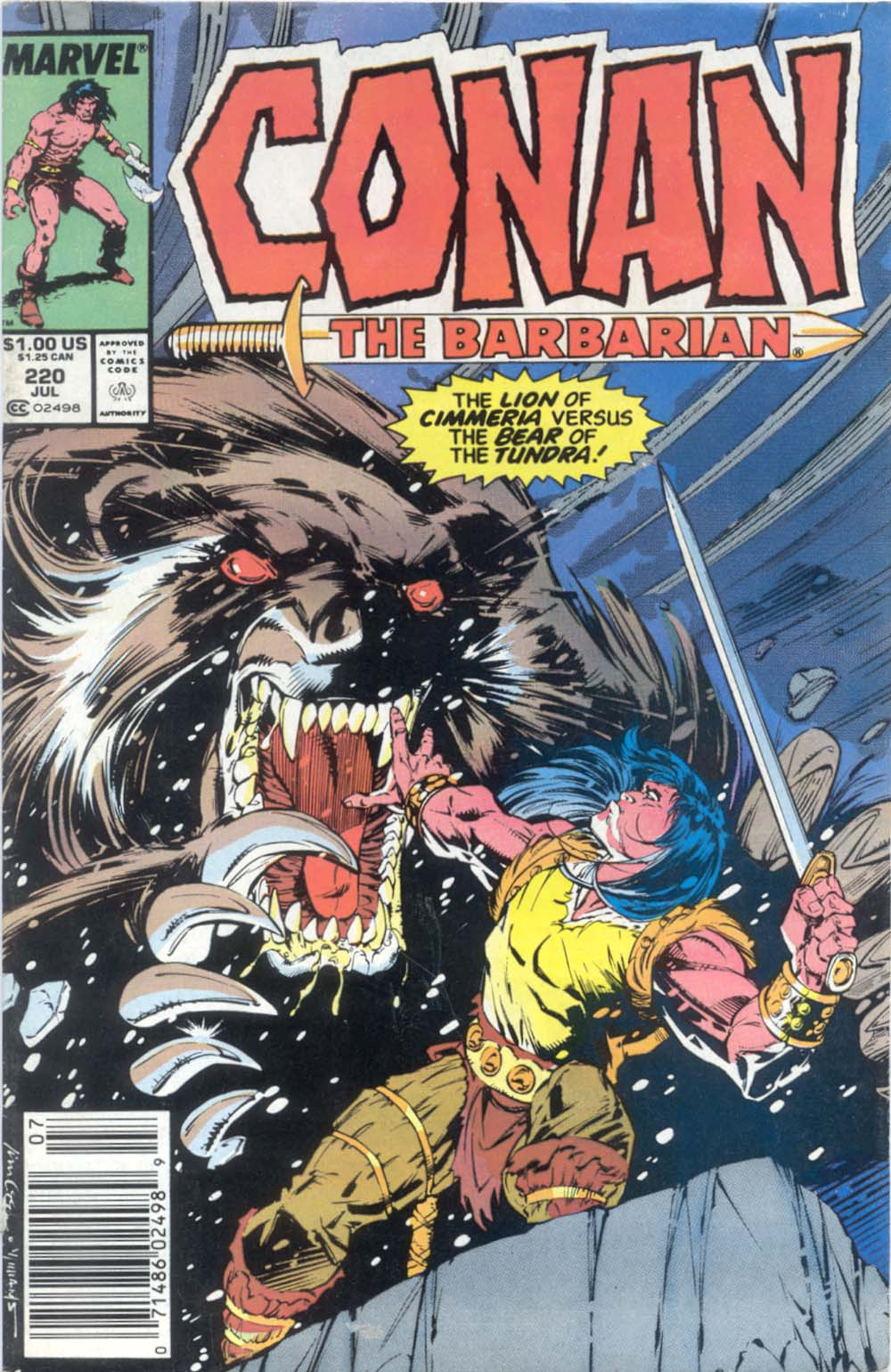 Conan the Barbarian (1970) Issue #220 #232 - English 1