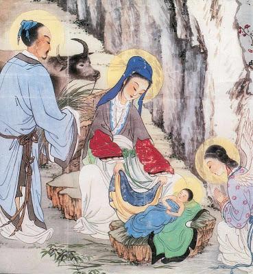 Presépio chinês