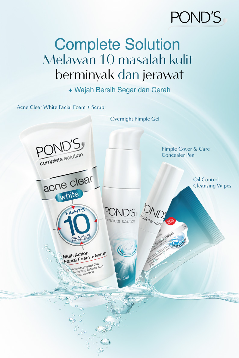 Ponds 101 High School Launching Of Acne Complete Solution Sariayu Paket Jerawat