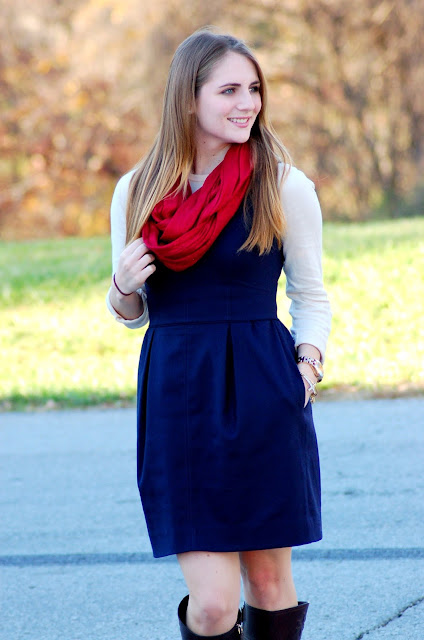 ideas for how to layer a dress