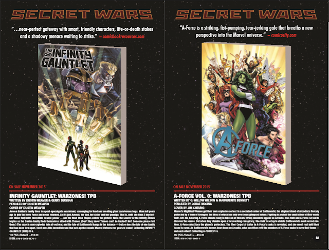 Marvel Comics Monthly Comic Book Preview October Trailerheroes