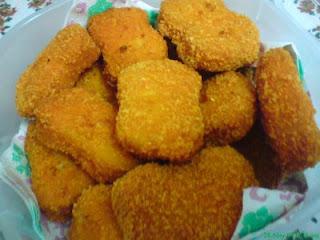 resep nugget ayam, cara membuat nugget ayam