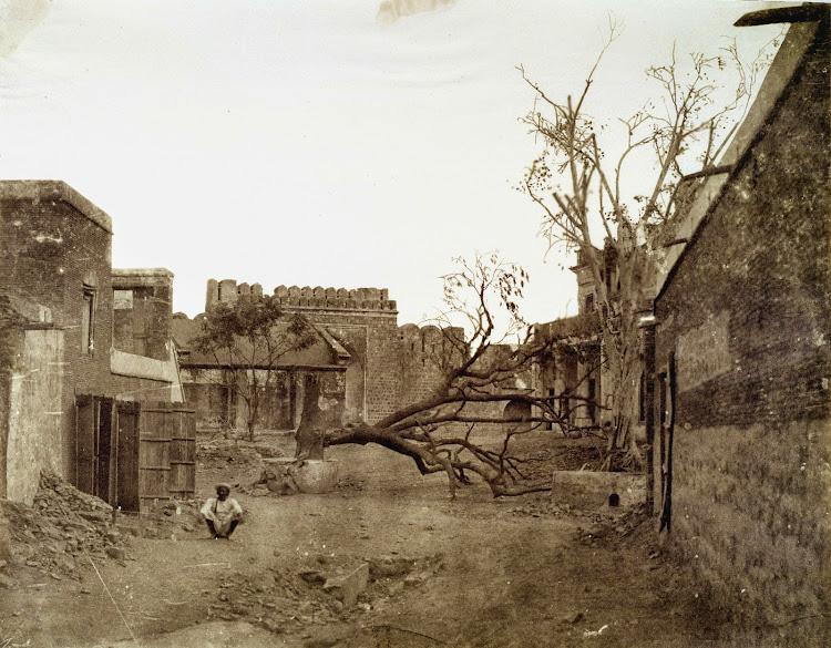 Mori Gate in Delhi - 1858