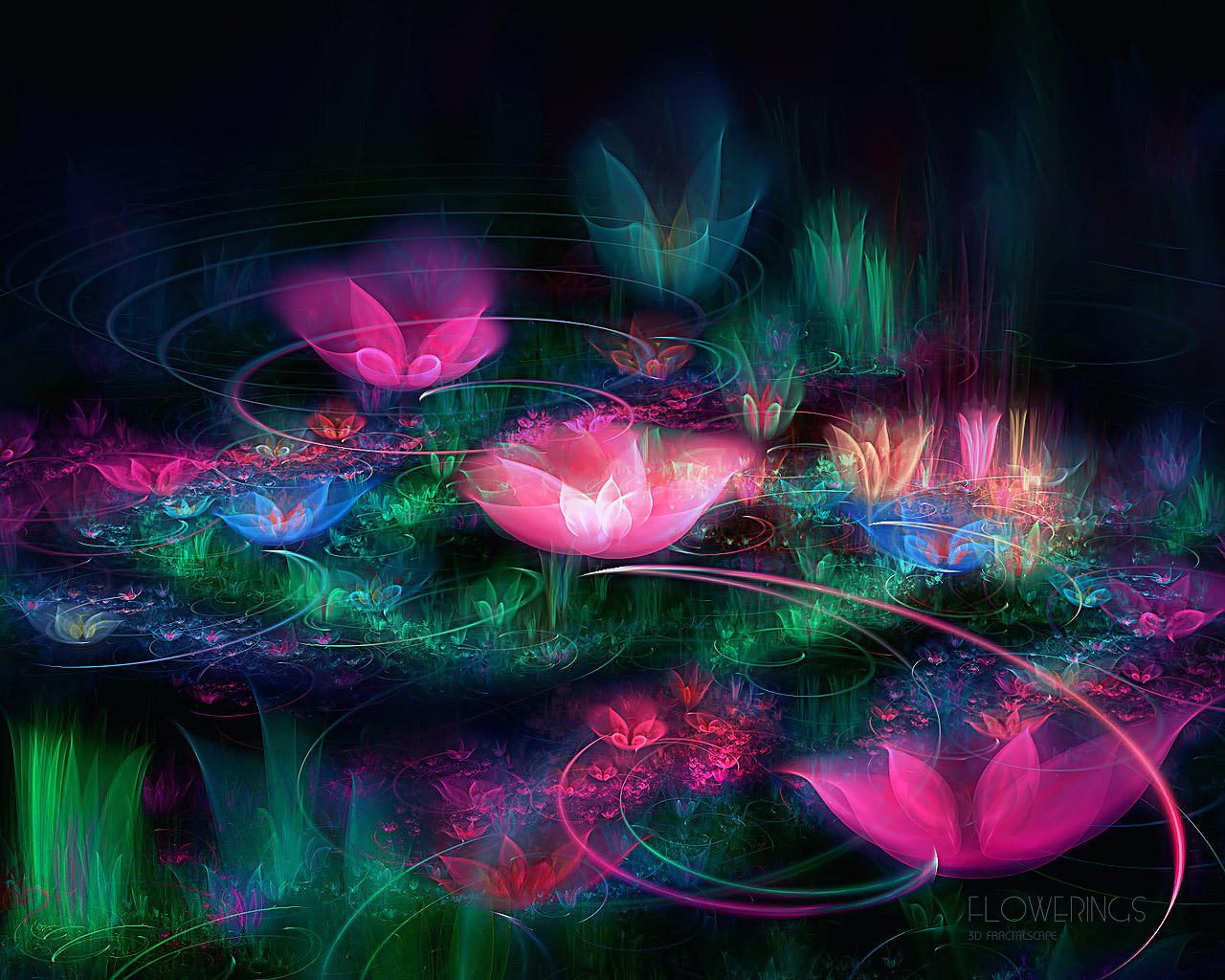 3d Flower Wallpapers