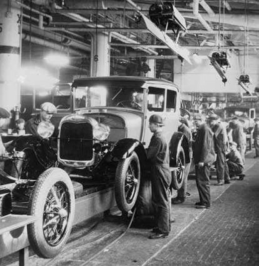 Henry Ford: Assembly Line
