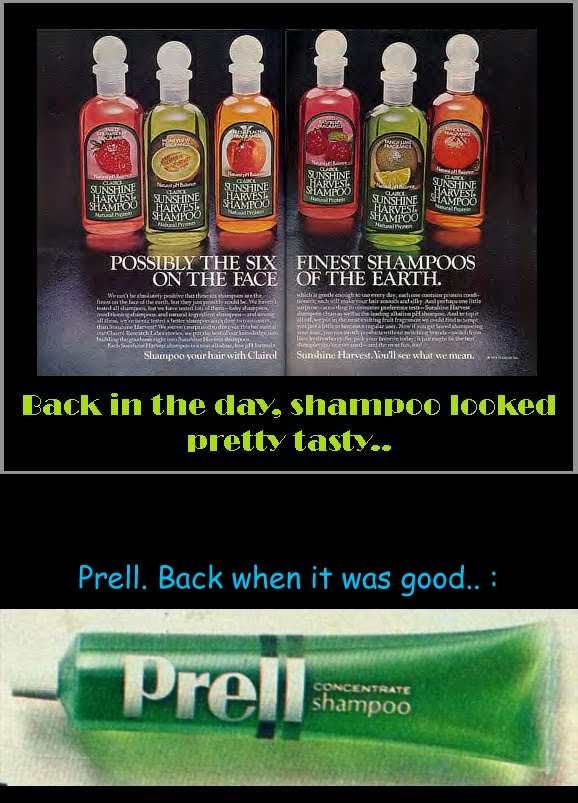 To this day I still love the smell of strawberry shampoo: