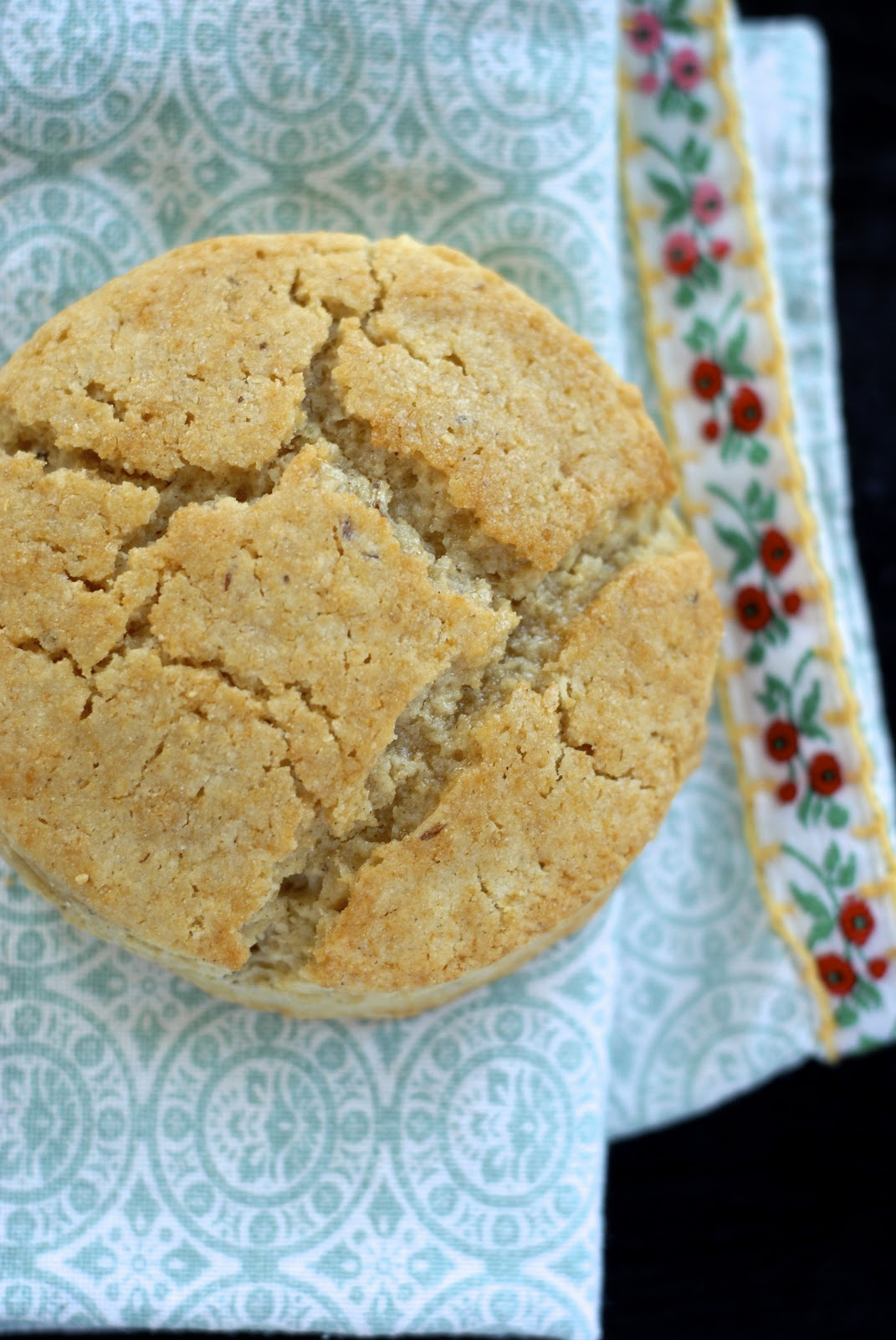 how to make hot water biscuits