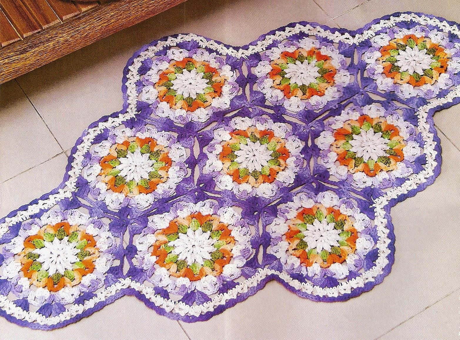 caminhos croche mesa carnaval folia cores blog croche com receita