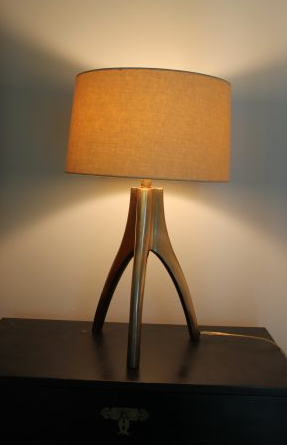 $80   Crate And Barrel Cleo Table Lamp