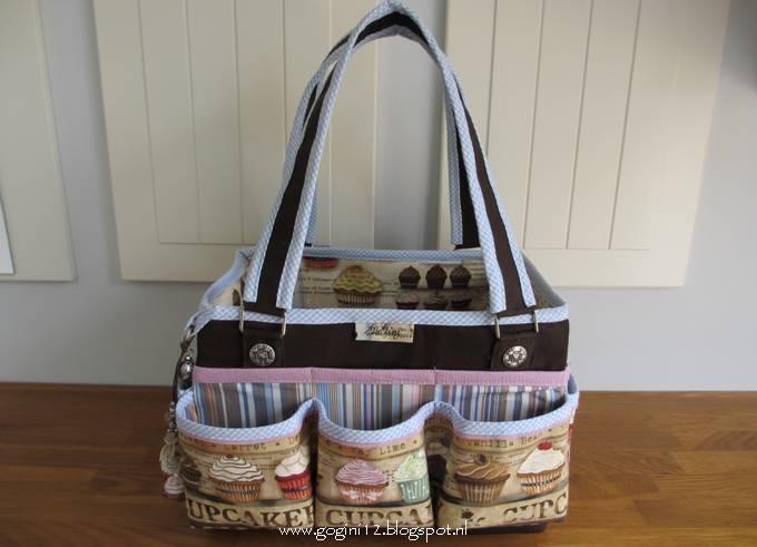 Tas Grote Vakken : Gogini vintage cupcake set