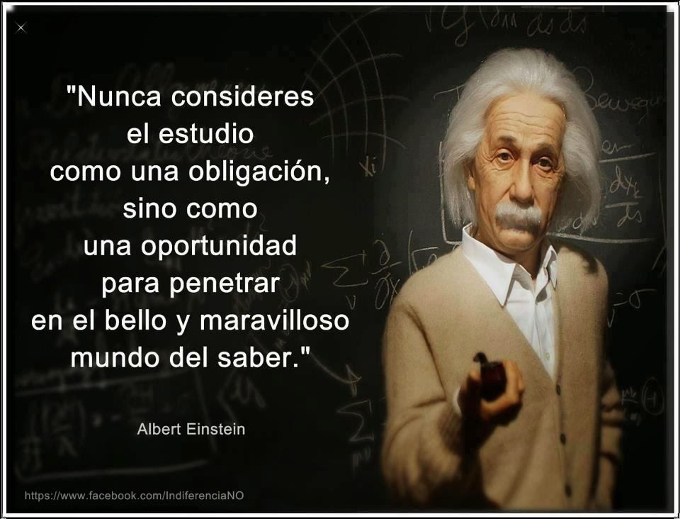EL ESTUDIO - ALBERT EINSTEIN