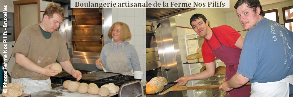 Ferme Nos Pilifs - Une ferme bruxelloise sur 5 hectares...mais bien plus encore ! -  Boulangerie artisanale de la Ferme Nos Pilifs - Bruxelles-Bruxellons