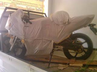 Pengiriman Motor Minerva 250cc Jakarta ke Sorong