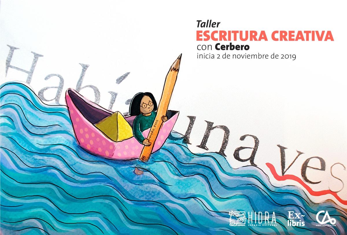ESCRITURA CREATIVA // 02 de Nov