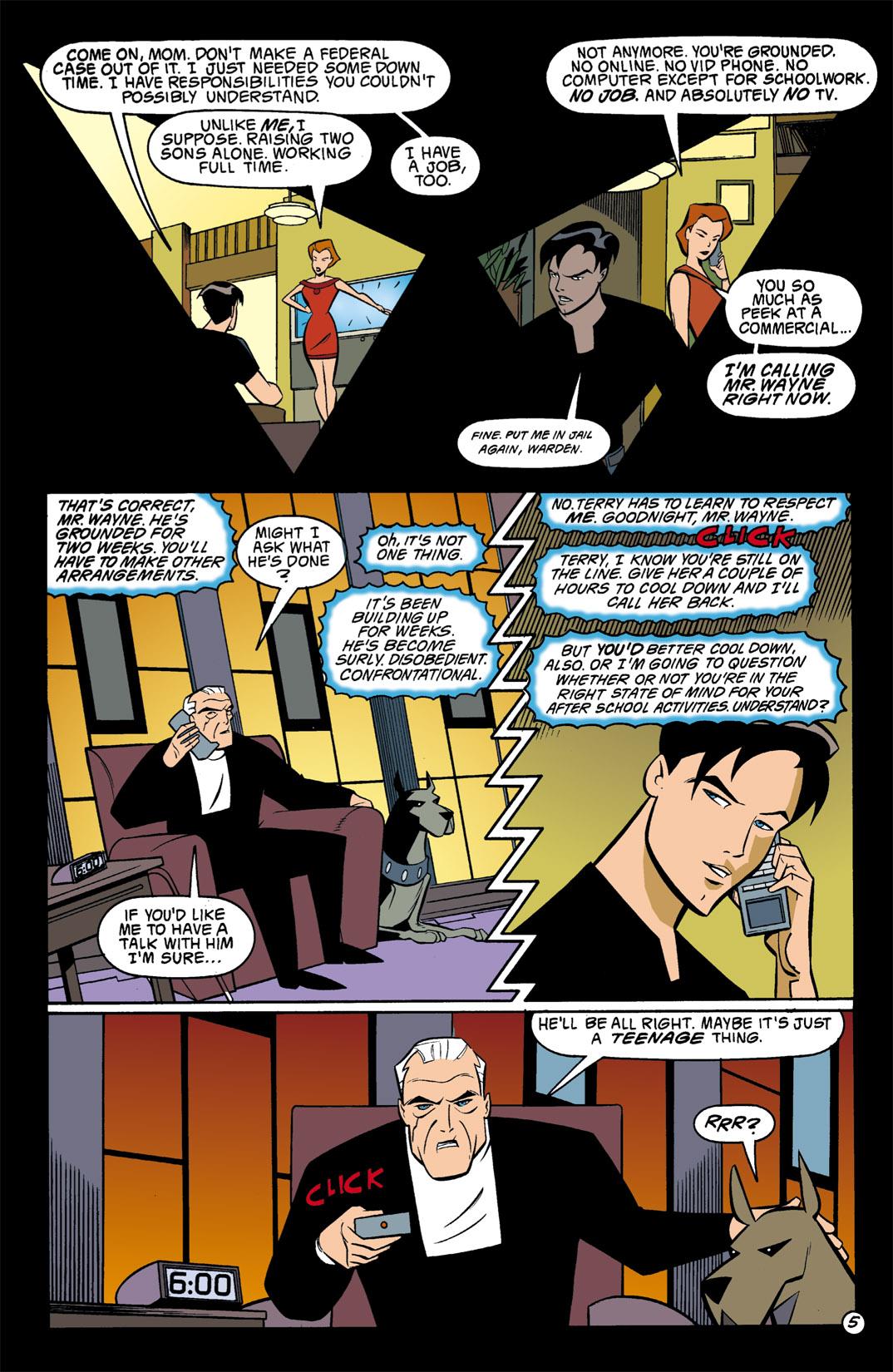 Batman Beyond [II] Issue #1 #1 - English 6