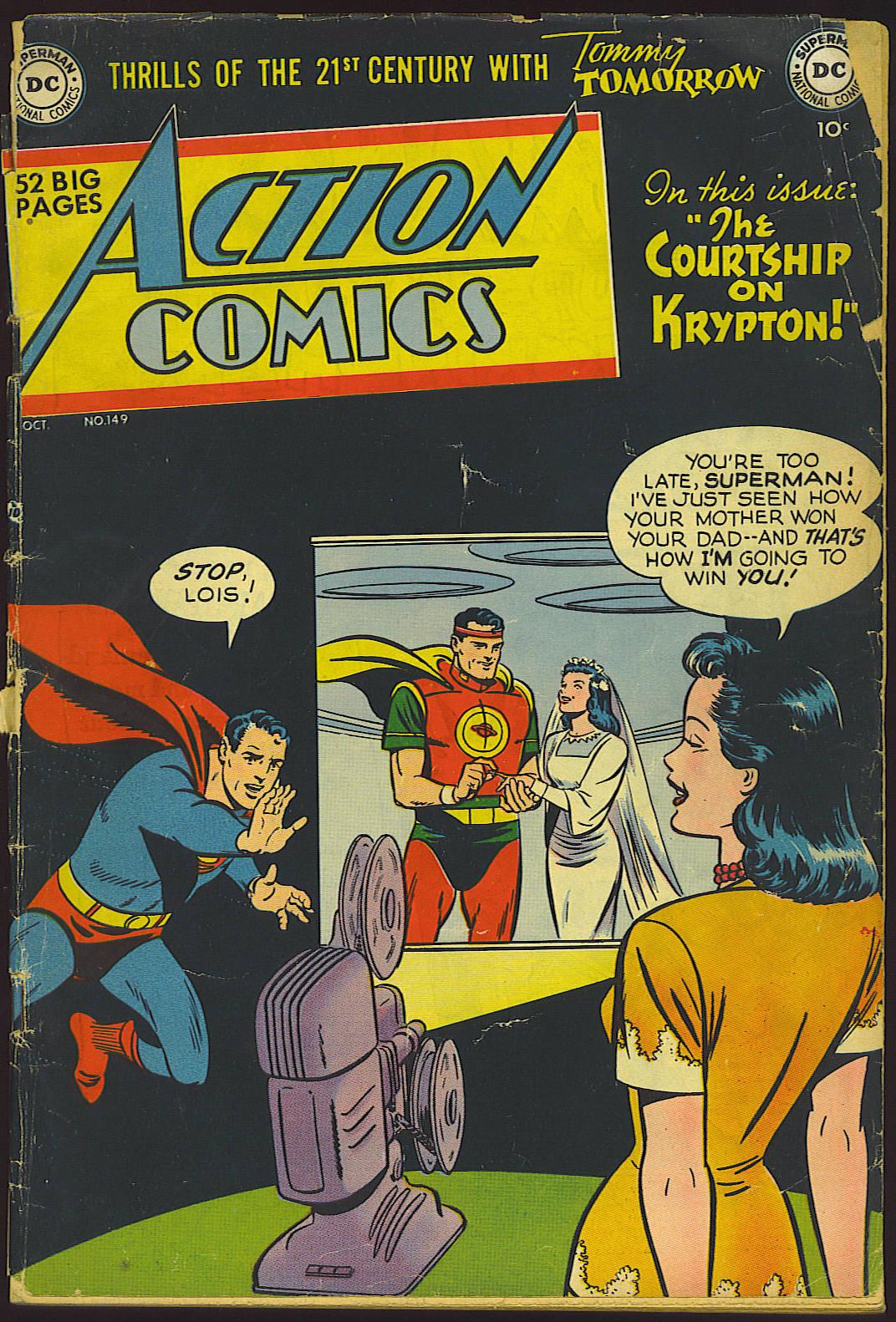 Action Comics (1938) 149 Page 1