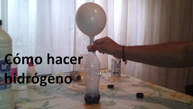 Experimentos Caseros como hacer hidrogeno globo experimentos caseros para niños