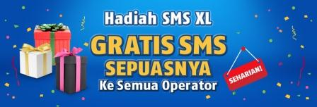 Hadiah SMS XL | Promo Terbaru XL | OneStopPulsa.blogspot.com