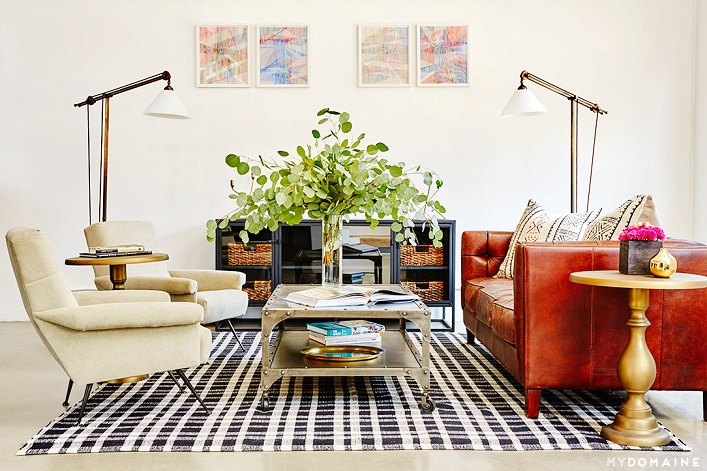 Mix and Chic Office tour A stylish industrialinspired Los