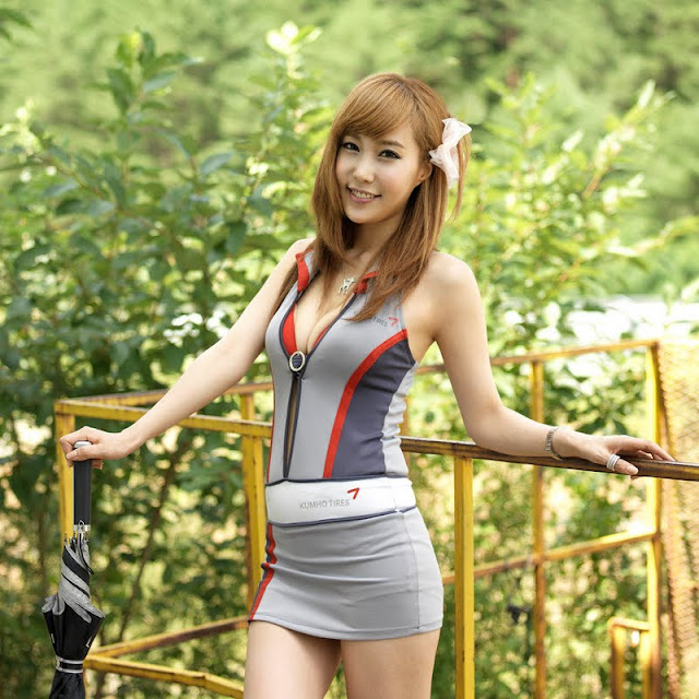 Im Min Young at CJ Super Race R5 2011