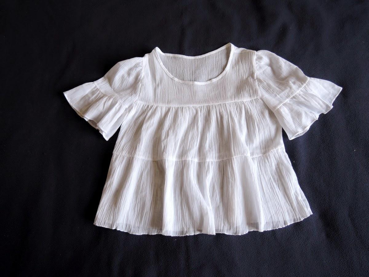 блузка из юбки