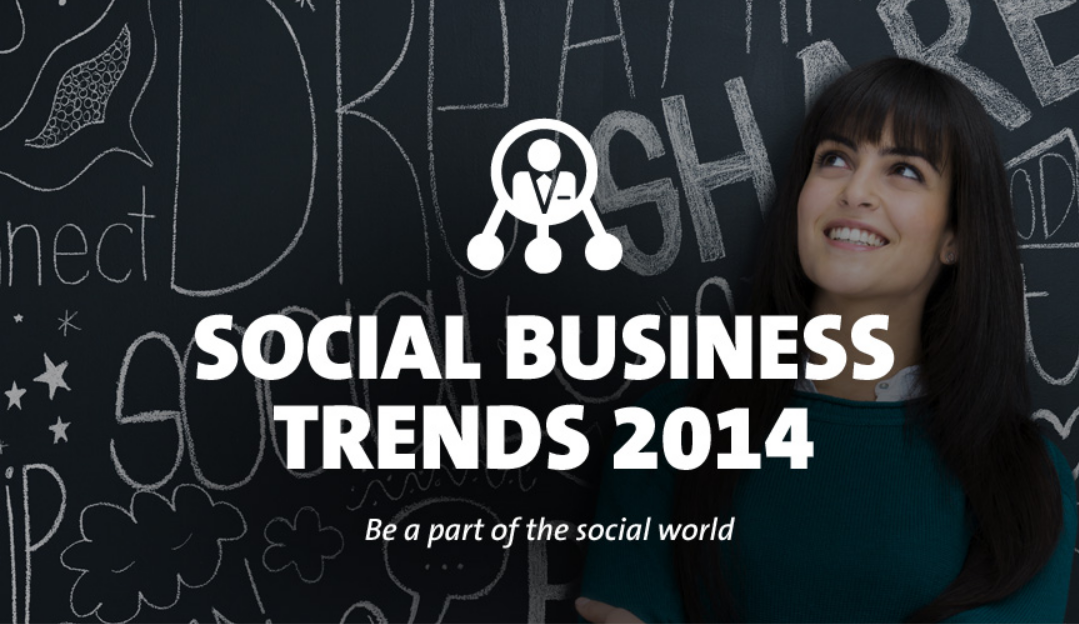 Social Business Trends 2014 - infographic