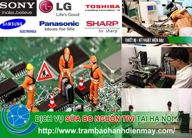 Hình ảnh: Sửa nguồn tivi tại Hà Nội
