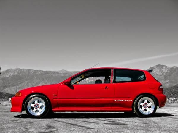 Honda Civic Hatchback Custom on Honda Civic Engine Parts