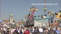 Oktoberfest fairground Munich