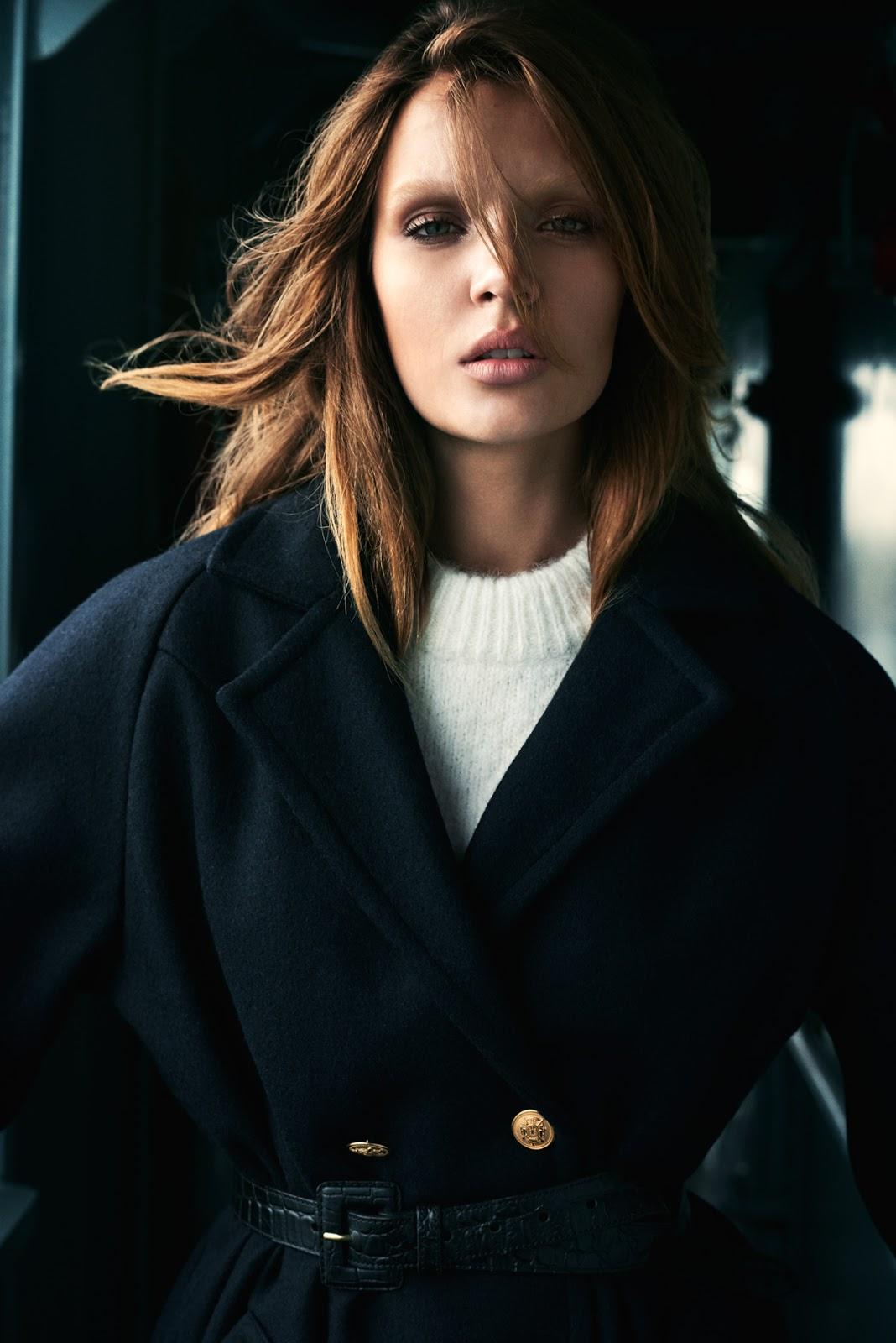 Elle Denmark October 2015 (photography: Henrik Bulow, styling: Kathrine Agger, model: Josephine Skriver)
