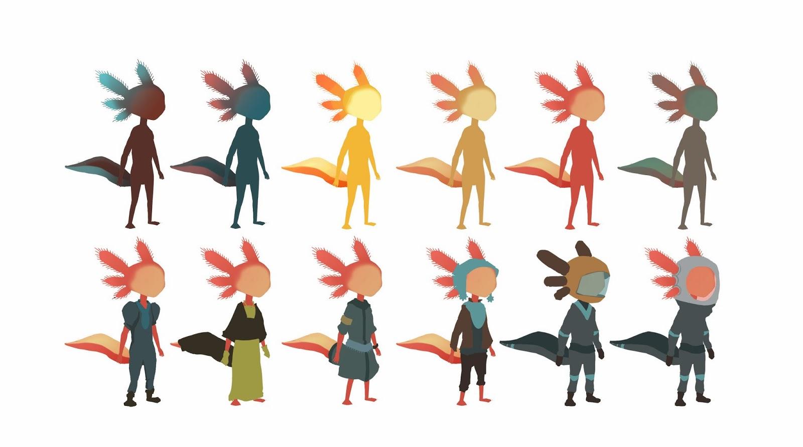 recherche graphique Indie-Game Axolotl