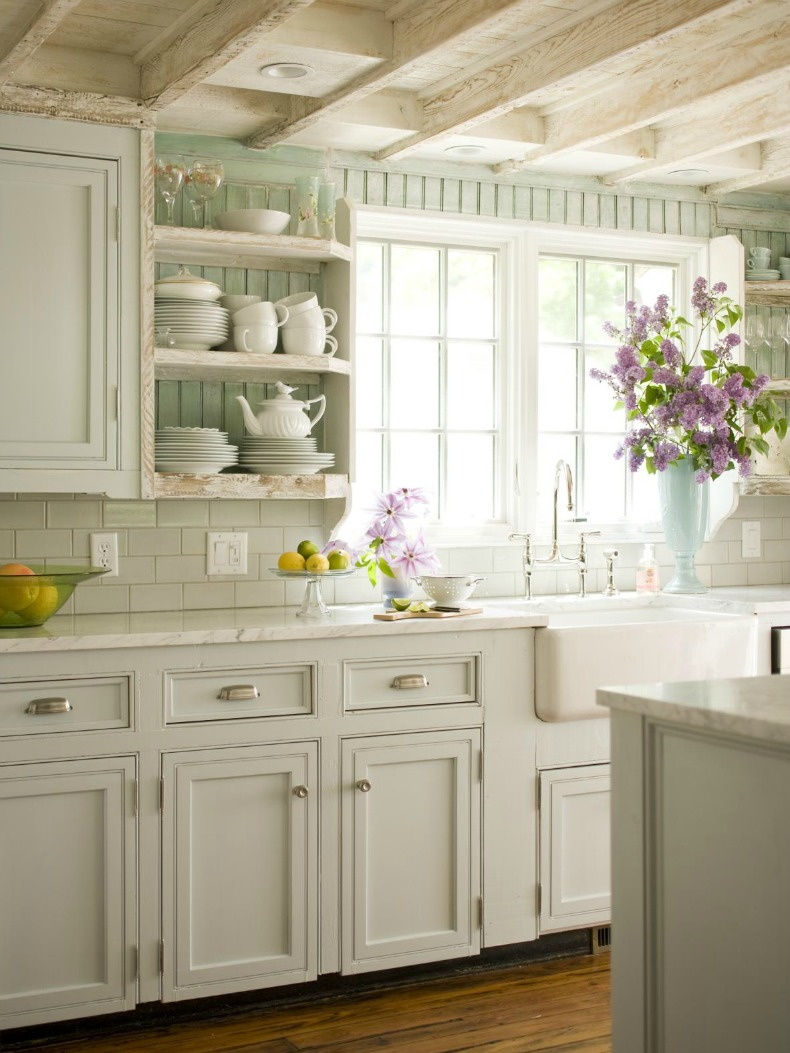 Better Homes And Garden Kitchens Coastal Cottage Style Kitchen Home Decoration Ideas