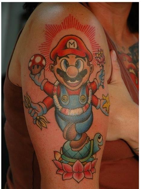 funny tattoo. Funny Tattoos Game Tattoos