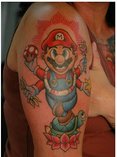 Funny Tattoos Game Tattoos