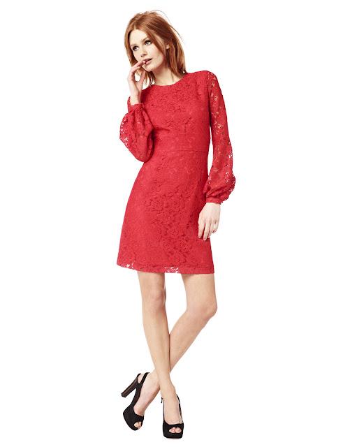 Vestidos de color Rojo