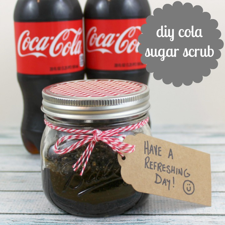 #CokeHappyHour #CollectiveBias  Share A coke DIY cola body scrub tutorial and recipe