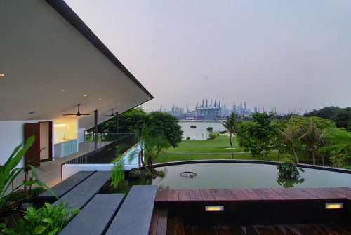 "Beautiful ""The Drum House"" in Singapore"
