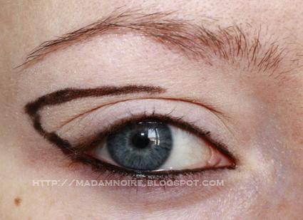 Eyeliner-Pencil: Tutorial: My birthday makeup
