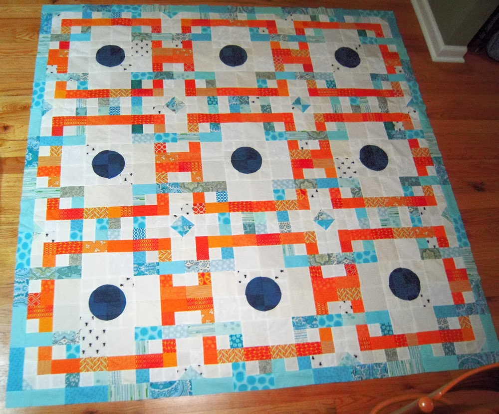 Interwoven Quilt Pattern