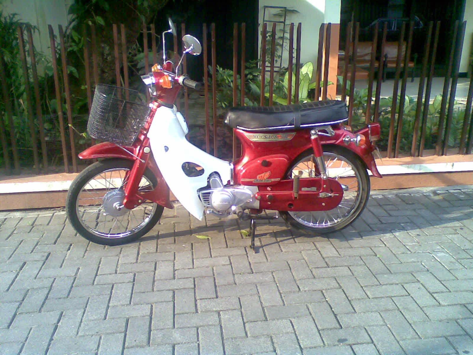 Jual Motor Bekas Honda 70 Free Modifikasi Motor