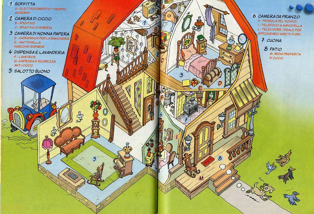 Retronika case da sogno la fattoria di nonna papera for La fattoria di topolino