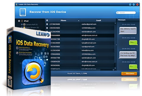 Leawo iOS Data Recovery Softwares Review